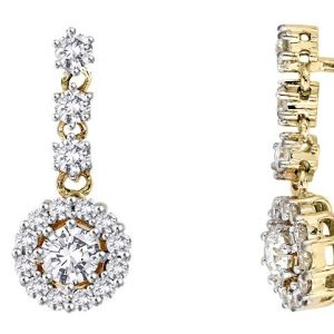gold and diamond earrings perth