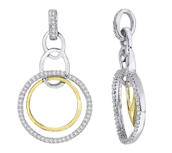 diamond and gold earrings jewellery designers perth