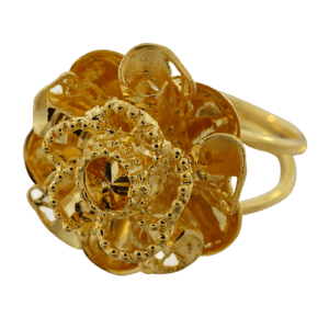 fancy flower ring