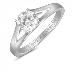 love and passion diamond ring