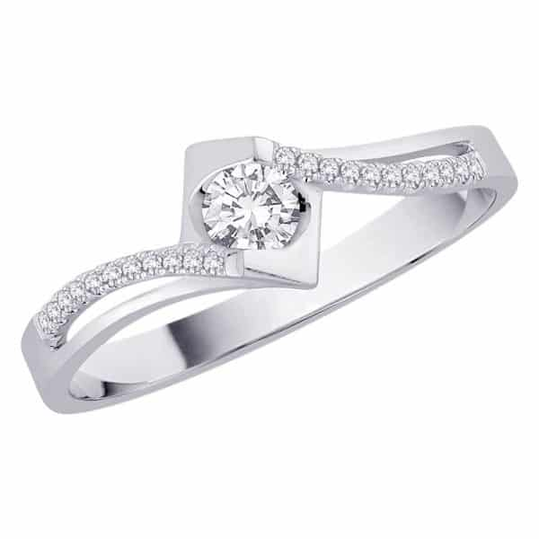 18k Petite Diamond Ring jewellery shops perth