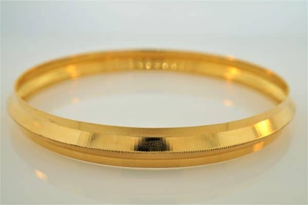 22k Solid Mens Bangle jewellery online