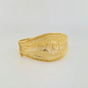 22k Filigree Style Bangle bespoke jewellery perth