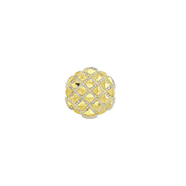 22k CZ Quilt Design Fancy Ring for sale jewellery store perth