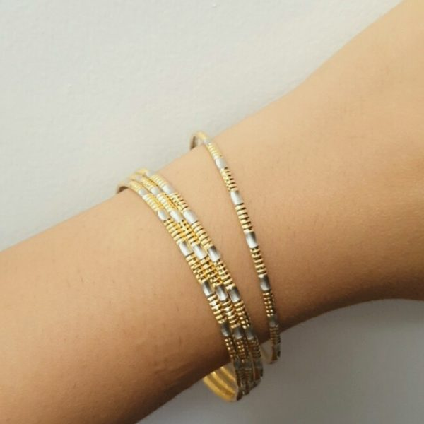 22k Patterned Bangles 16.9g jewellery designers perth