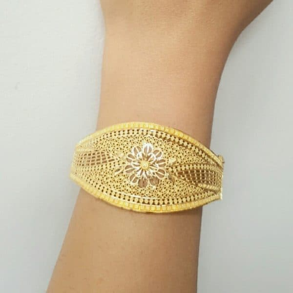 22k Patterned Gold Bangles 16.9g indian jewellery perth