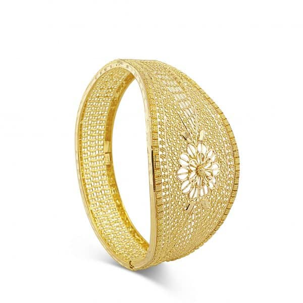 best jewellers perth 22k Patterned Bangles 16.9g