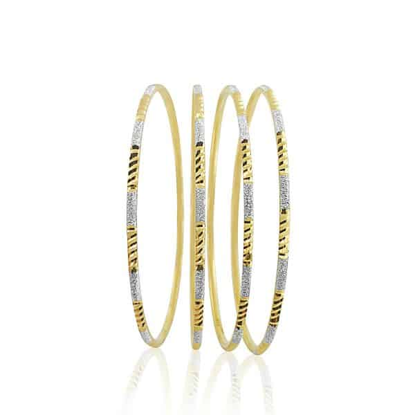 jewellery stores perth 22k Patterned Bangles 16.9g